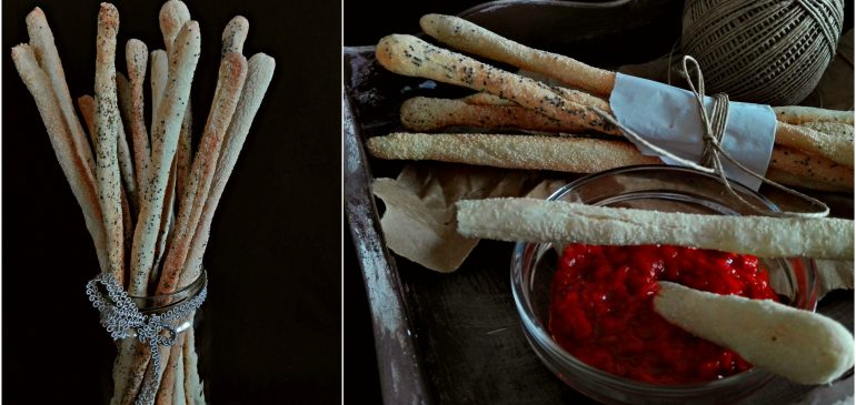 DOMAĆI  GRISINI – Homemade breadsticks