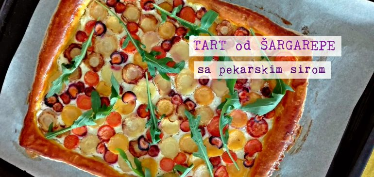 TART od ŠARGAREPE sa pekarskim sirom