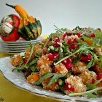 Salata od pečene BUNDEVE, KINOE i RUKOLE