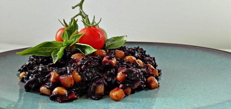 RIŽOTO od CRNOG PIRINČA i povrća