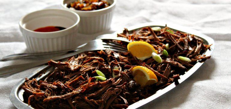 Cepkana JUNETINA iz slow cooker aparata – PULLED BEEF