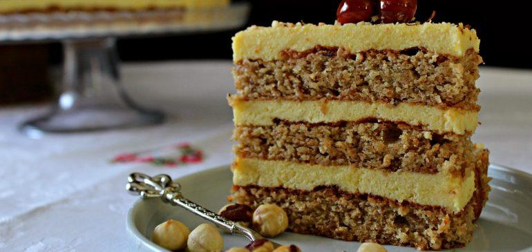LEŠNIK TORTA – sa filom kuvanim na pari