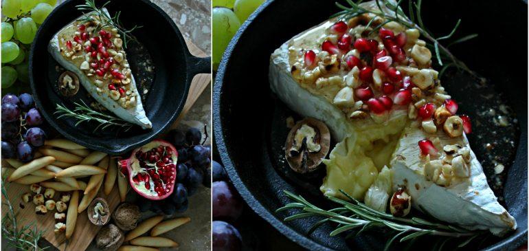 Pečeni BRIE sa medom i voćem