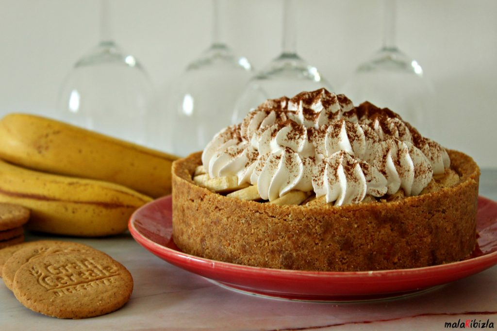 BANOFFEE PIE - Banofi pita od kondenzovanog mleka sa bananama