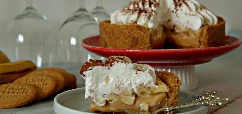 BANOFFEE PIE – Banofi pita od kondenzovanog mleka sa bananama