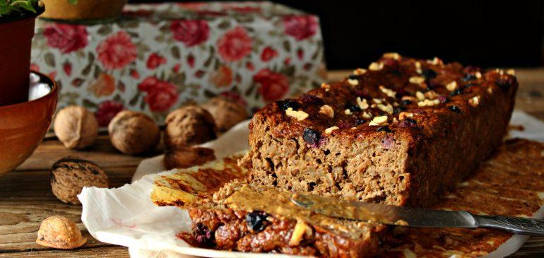 BANANA Bread sa JEČMOM i puterom od ORAHA