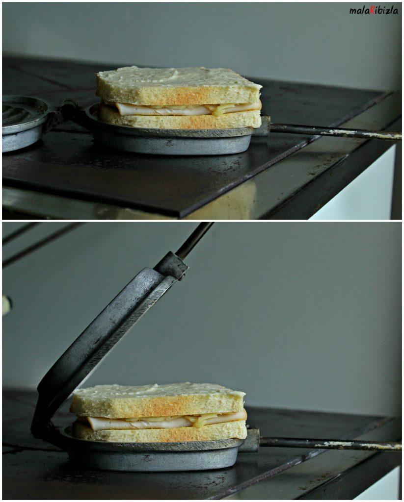 sendvic na presu